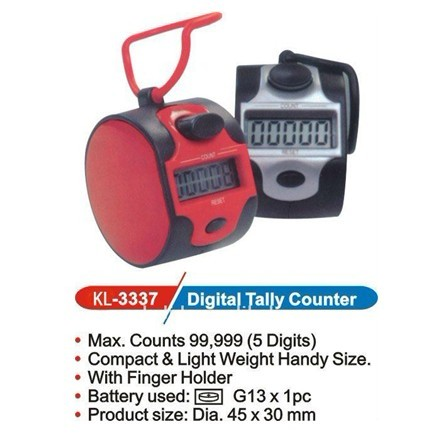 Digital tally counter