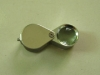 10X18mm metal frame jewelry magnifier