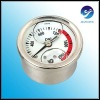 "2""Dial Horizontal Oil Filled Psi Pressure Gauge"