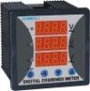 2011 new digital three phase volt meter