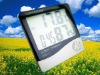 2012 new generation digital lcd thermometer & hygrometer