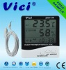 288B-CTH digital thermo hygrometer with clock