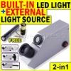 2in1 Light Source Gem Refractometer Gemstone New Design