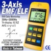 3-Axis Gaussmeter EMF ELF Magnetic Field Gauss Meter 2000mG, Tai