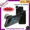 3 in 1 lens kit Camera Lens for iphone extra parts