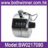 4 Digit Number Clicker Golf Hand Held Tally Counter