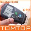 4-Pin Digital Wood Moisture Meter Damp Detector Tester