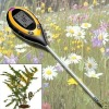 4in1 pH Moisture Light Soil Meter Thermometer