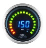 52mm digital 2 in 1 Auto Racing Gauge Fuel Pressure with Volt