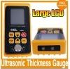 5MHz , 1-9999m/s, 1.2-225.0mm(steel) Measuring Range , Ultrasonic thickness gauge AR850+ free shipping