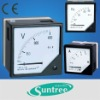 6L2 analog panel meter 80*80mm AC/DC ammeter voltmeter Frequency Hz power kw power factor COS