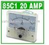 85C1 Analog Panel Meter 20A 20 AMP DC Ammeter