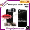 9X telephoto for Camera Lens for iphone extra parts IP860 lens for iPhone