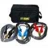 AEMC 2119.87, Lead - Replacement, Set of 3 Color-coded 45 ft Safety Leads with Integral Hippo Clips