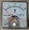 Analog Volt Meter Panel Mount 0-20 VDC PM020-DC