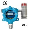 Audible and visual alarm explosion proof chlorine detector