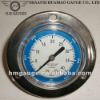 Back Connection Anti-corrosive All Stainless Steel Pressure Gauge