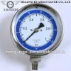 Bottom Mount All Stainless Steel Manometer