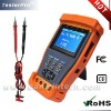 CCTV PTZ camera tester with digital multimeter