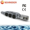 CCTV pipe inspection robot with 100m Cable