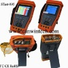 CCTV tester monitor STest-895-011 with ptz controller and optical multimeter