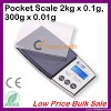 Cheap 200g/0.01g Digital Pocket Scale from Expert Dongguan Factory