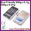 Cheap 600g/0.1g Electronic Weighing Scale from Direct Dongguan Factory