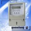 DDS5558 single phase electronic kwh meter