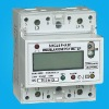 DIN RAIL KWH METER,Din rail watt-hour meter,single phase modular energy meter