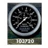 "Datcon 103654, 3-3/8"" Speedometers, 30LP113KM (P-Low), 0-130 KM/H"