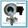 Diaphram low pressure electric contact gauge