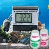 Digital pH Meter Monitor + 2 Buffer solutions + Battery