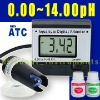 Digital pH Meter Tester Monitor Hydroponics Aquarium