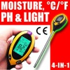 Digital soil ph/moist tester with battery 4 in 1 light
