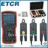 ETCR4300 Intelligent Three Phase Digital Phase Volt-Ampere Meter----Manufactory, RS232 interface