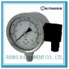 Explosion proof pressure gauge with transmitter