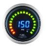 Fuel Pressure Gauge (Racing Gauge digital 2 in 1 52mm Fuel Pressure with Volt)