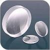 Fused silicon glass lense,Quartz glass lense,Optical lens