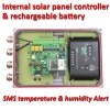 GSM Solar Temperature & Humidity Monitoring