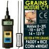 Grain Moisture Meter Tester Hay Oat Wheat