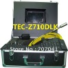HOT!!! Sewer Pipe Inspection Camera with 20/30/40/50m Cable TEC-Z710DLK