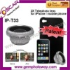 IP-T33 2X telephoto lens mobile phone accessory camera lens contact lens