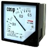 Installation pointer panel meter(AC power factor meter)