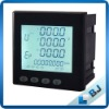 LCD energy meter for solar system use