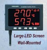 Large LED Screen Datalogger Temperature/ Humidity Monitor TM-185 free shipping