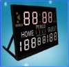 Led Scoreboard Display time&scores,scorer,score board,score maker,score mark,score indicator,score machine,score teller