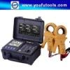 MS2307 Smart Dual-Clamp Earth Resistance Tester 20V/48V