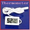 Mini Digital LCD Thermometer Humidity Temperature Hygrometer White