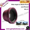 Mobile phone lens SCL-31 wide angle lenses mobile phone accessory for iPhone