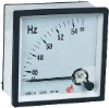 Moving Coil Instrument Frequency Meter Pointer Type HZ METER